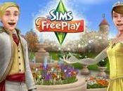 château entouré mystère apparu dans nouvelle version Sims Gratuit iPhone