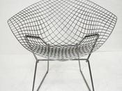 Design fauteuil Diamant Harry Bertoia