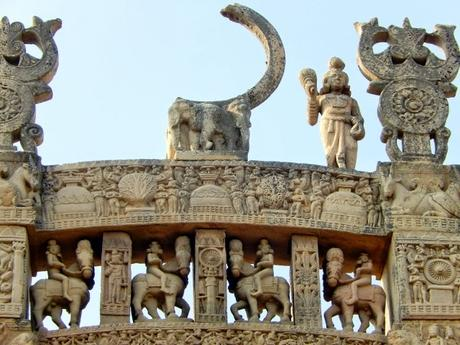 Sanchi, grand lieu de pélerinage bouddhiste