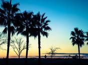 Couchers soleil l'Ouest Américain