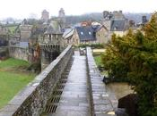 Bretagne Fougères, ville médiévale architecture militaire
