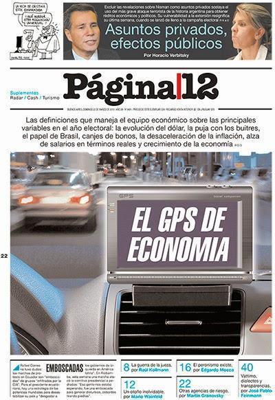 Página/12 émet deux hypothèses sur l'affaire Nisman [Actu]