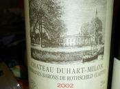 Pauillac Duhart-Milon 2002 Saint Emilion Pavie Macquin