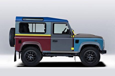 Le Land Rover defender à la sauce Paul Smith