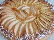 Tarte pomme crème d'amande