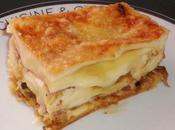 Lasagnes endives, jambon maroilles