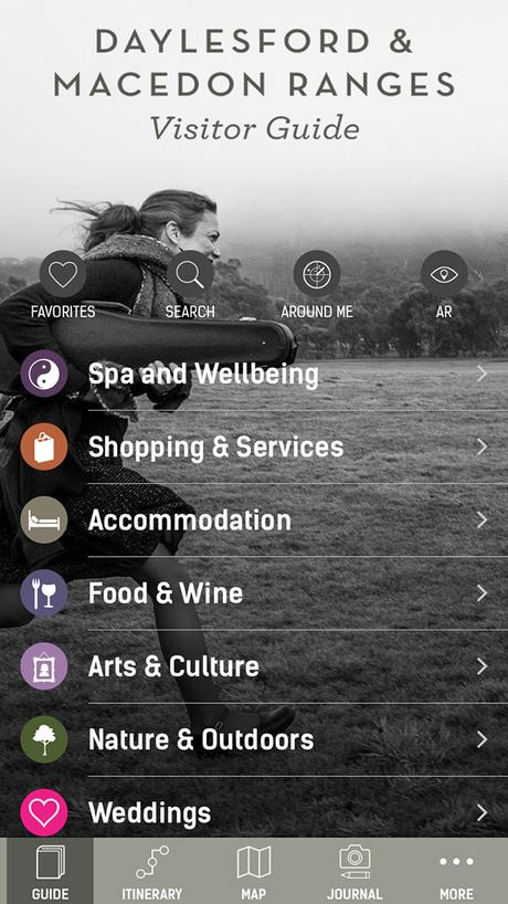 Daylesford & Macedon Ranges met à jour son application mobile