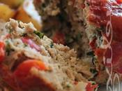 ~Petits pains viande dindon pommes terre fines herbes~