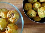 Mini-muffins magret-comté courgette-curry