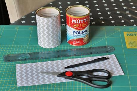 Recycler Ses Boites De Conserve Avec Du Tissu Adhesif A
