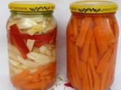 Variantes crudités citron vinaigre (torchi khel)