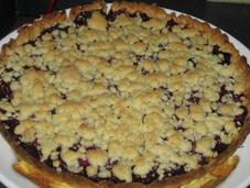Tarte crumble fruits rouges