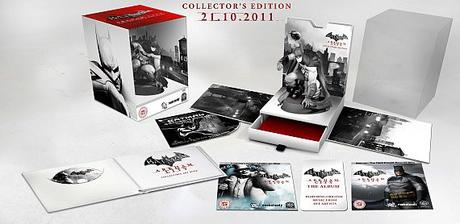 L'édition collector de Batman : Arkham City détaillé