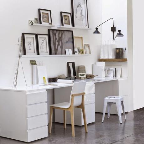 Home challenge // Un bureau chez soi