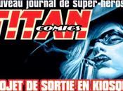 Titan comics projet dante productions