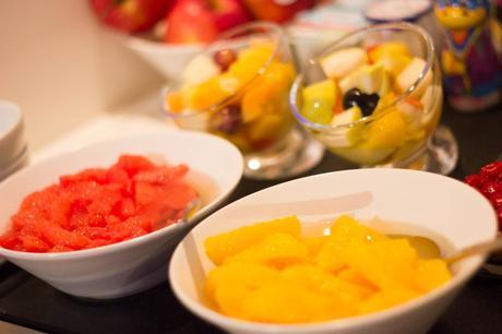 petit déjeuner fruits