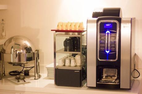 machine café design