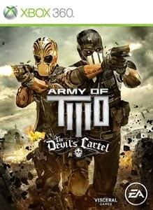 Jaquette du jeu xbox360 army of two the devil's cartel