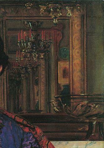 Hunt portrait-de fanny-1868 la mort