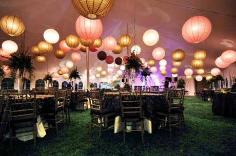 lanternes-papier-dorees-mariage