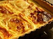 Tarte Maroilles pâte brisée l'huile d'olive