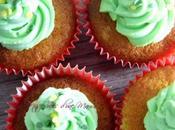 Cupcakes citron vert-cactus