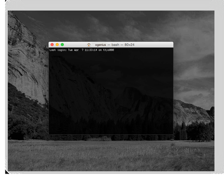 Astuce Yosemite: basculer son Mac du côté obscur de la force