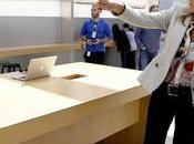 Apple veut plus voir file devant magasins