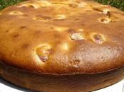 Gâteau yaourt cerises amandes
