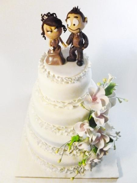 Mon premier wedding cake