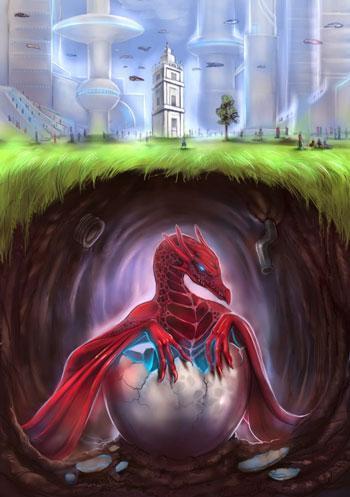 L'affiche de la semaine de la fantasy à Mons