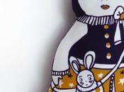 textiles illustrés Lalie guise
