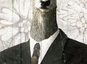 Collage numérique: l'homme-cerf (nouvelle version)