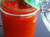 Puree tomates basilic... pour hiver pleins vitamines