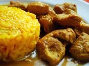 Poulet curry Masala Basmati Safrané