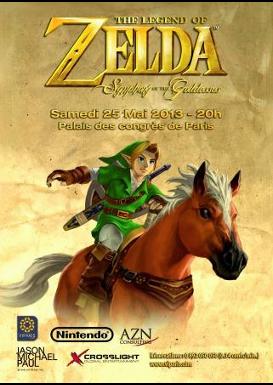 Concert Zelda symphony of godness au palais des congres de paris