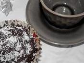 Cupcakes chocolat noix coco