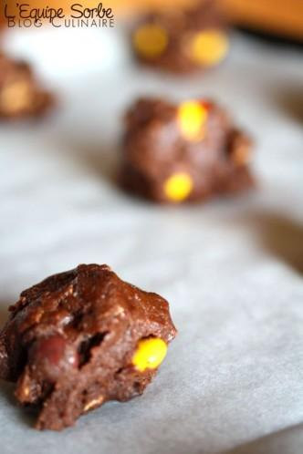 Cookies Reese's-Chocolat ! too much mais too bon !!!
