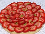 Tarte fraises avec crème lemon curd philadelphia