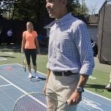 Quand Obama tape la balle avec Wozniacki à la Maison Blanche
