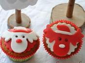 """Cupcakes """"Têtes Rennes"""" pâte d'amande"""