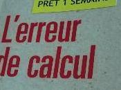 L'erreur calcul (Régis Debray)
