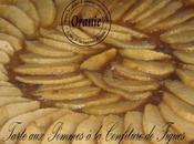 Tarte pommes confiture figues