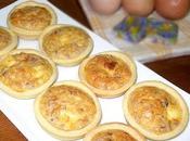 Tartelettes Soufflées Thon