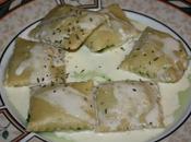 Ravioli épinards, gorgonzola…