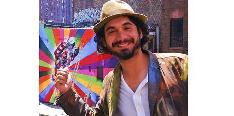artiste brésilien art urbain eduardo kobra