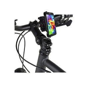 Cette station d'accueil multi-directionnelle permet de fixer votre smartphone au cadre de votre vélo (1.8cm à 2.5cm de diamètre).     Votre appareil et ses fonctions restent à portée de main (GPS, Kit Mains libres, Musique, Appels, Applications etc) ...