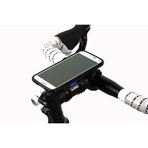 FEATURES: The Quad Lock® Bike Mount Kit for the Galaxy S5 is the lightest and strongest Samsung Galaxy S5 Bike Mount on the market. Everything you need to secure your Galaxy S5 to your bike or motorbike is included in the kit. With the water resistan...