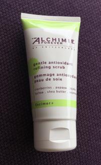 Ma peau sensible est exfoliée tout en douceur grâce à Alchimie Forever !