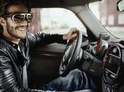 Mini Augmented Vision, concept lunettes réalité augmentée pour conduire